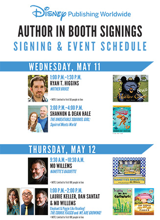 In-Booth Signings