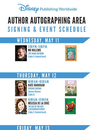 Book Expo America Author Signings