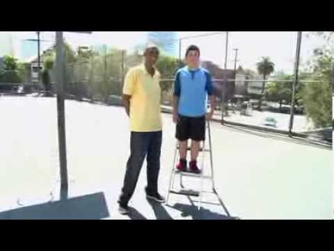 Kareem Abdul-Jabbar's Sasquatch in the Paint on Disney XD Extra