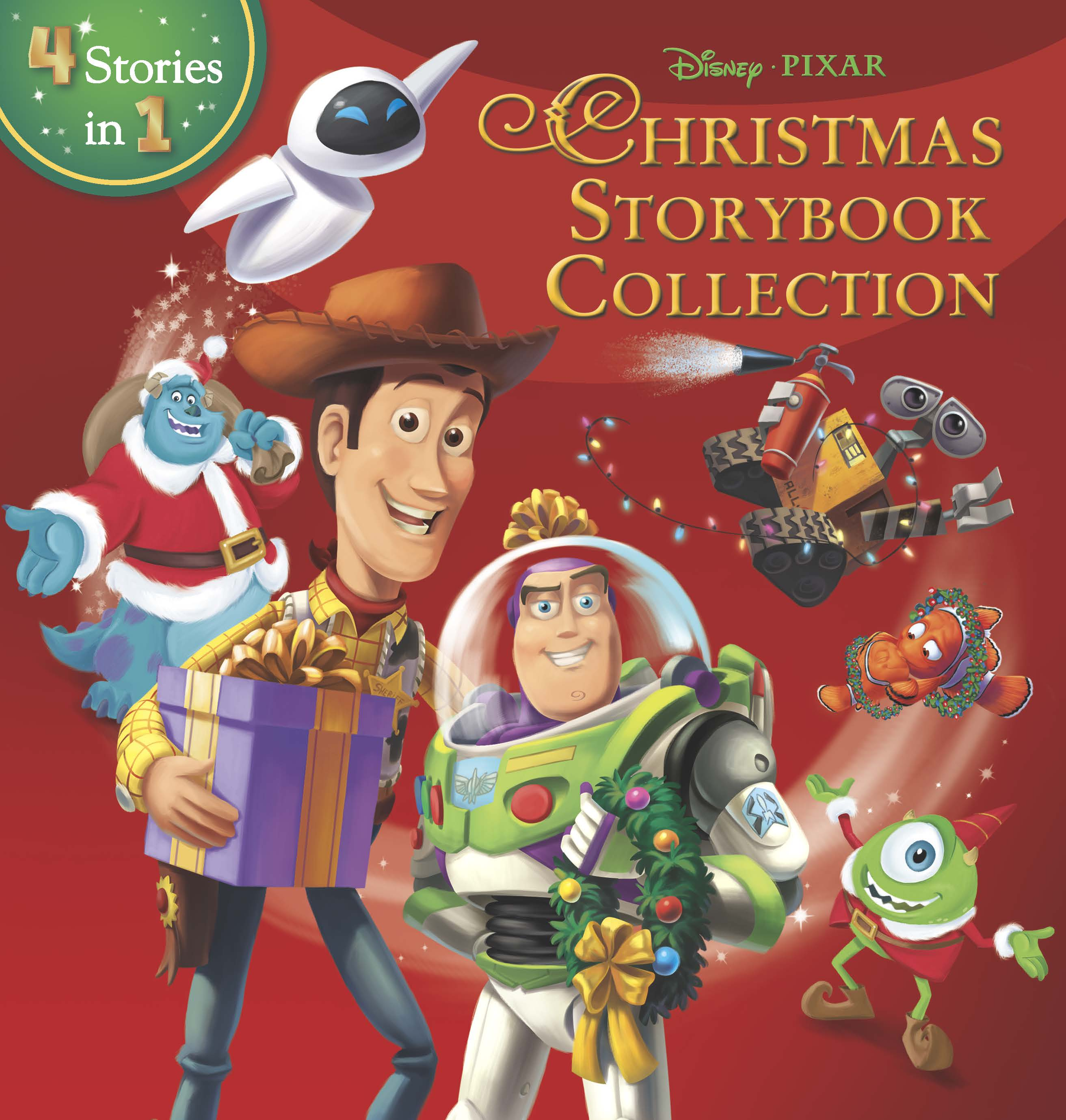 DisneyPixar Christmas Storybook Collection