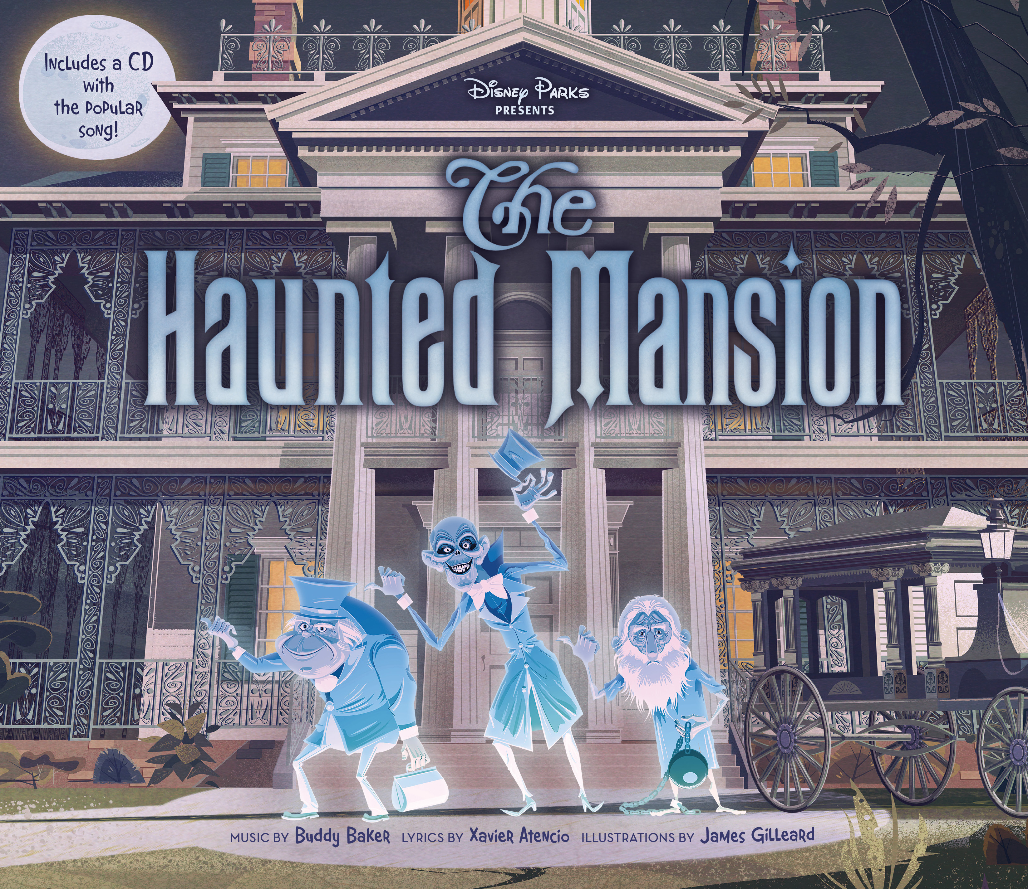 Haunted Mansion Foyer Music : Disney parks presents the haunted mansion books