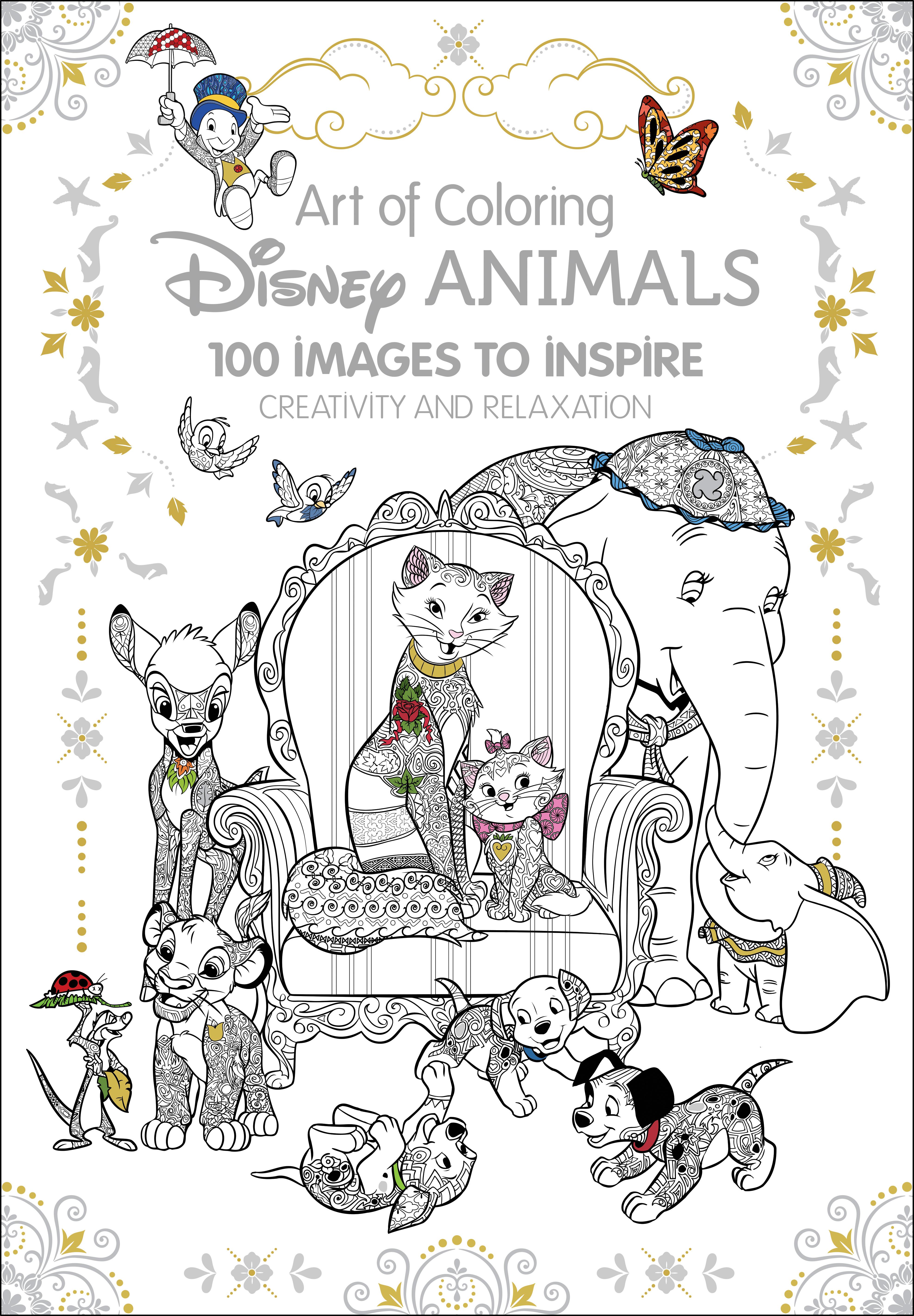 Art Therapy Disney Animals