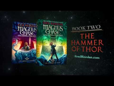Magnus Chase and the Gods of Asgard, Book II: The Hammer of Thor