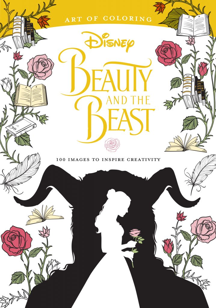 Art Of Coloring: Beauty And The Beast Disney Books Disney Publishing  Worldwide