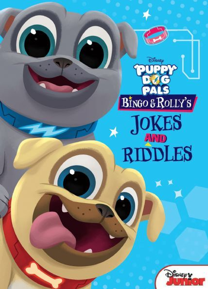 Bingo And Rolly S Jokes And Riddles Disney Books
