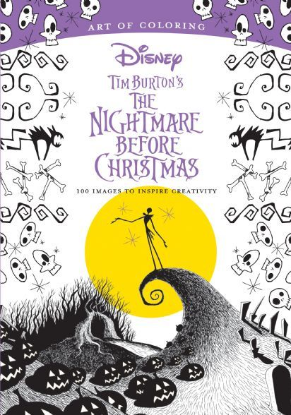 Art Of Coloring Tim Burton S The Nightmare Before