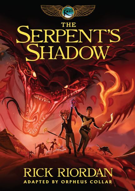 the serpent shadow book review Rate, review and discuss the serpent's shadow (the kane chronicles, book three) by rick riordan for free at read print.