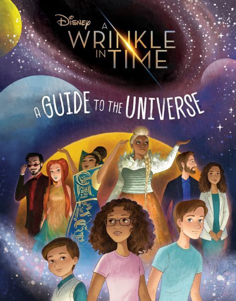 A Wrinkle In Time A Guide To The Universe Disney Books