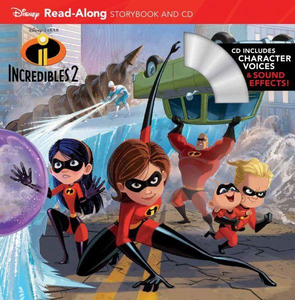 Incredibles 2 ReadAlong Storybook