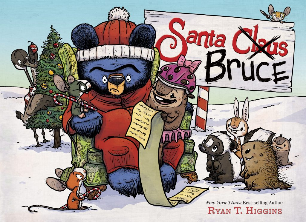 Santa Bruce Disney Books Disney Publishing Worldwide