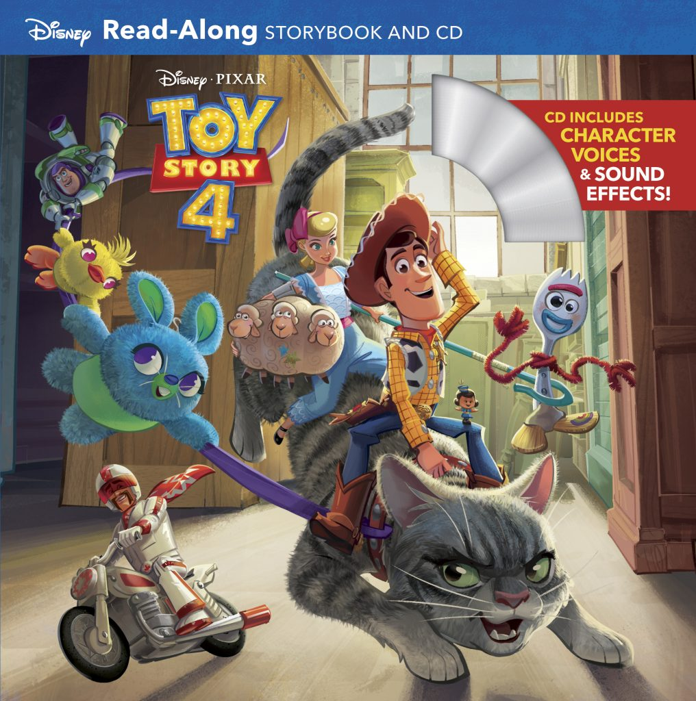 Toy Story 4 Read Along Storybook And Cd Disney Books