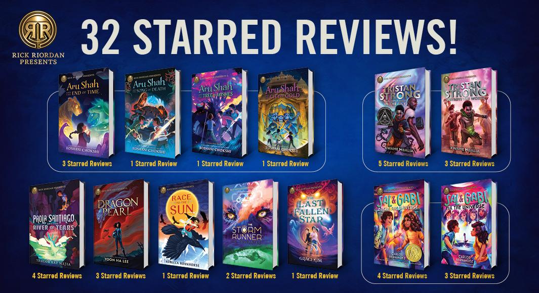 32 Starred Reviews